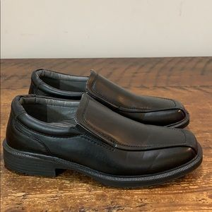 Deer Stags Greenpoint Black Slip-On Shoes Sz 10 W